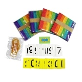 School Classroom Pocket Chart Counting The Days Back with Magnetic Strip Number Cards Counting Sticks Develop Counting & Basic Math Skills