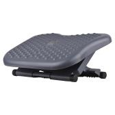 Under Desk Footrest with Massaging Bead Adjustable Ergonomic Foot Rest