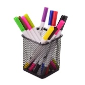 Mesh Pen Pencil Holder Metal Pen Organizer Storage