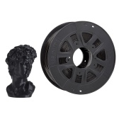 Creality 3D Printer PLA Filament 1,75mm 1kg / 2,2lbs Filamento Precisão Dimensional +/- 0,02 mm, Preto