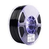 eSUN PETG 1.75mm 3D Printer Filament Printing Consumables Dimensional Accuracy: +/- 0.05mm 1kg(2.2lb) Spool Material Refills Solid Black