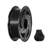 Нить для 3D-принтера TRONXY TPU 1,75 мм Точность размеров +/- 0,05 мм Катушка 1 кг (2,2 фунта), черная