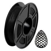 Filamento per stampante 3D SUNLU TPU 1,75 mm Precisione dimensionale +/- 0,02 mm Bobina da 1 kg (2,2 libbre), giallo