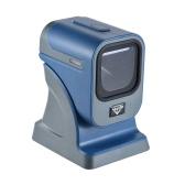 High Speed Omnidirectional 1D / 2D Presentaion Barcode Scanner Reader Platform com cabo USB para lojas Supermercados Express