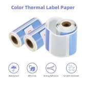 3 Rolls Direct Thermal Labels Self-Adhesive Thermal Paper Roll