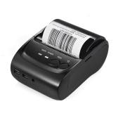 Segunda Mão POS-5802DD Mini Portátil USB Impressora Térmica USB Ticket de Recibo de Impressão POS para iOS Android Windows