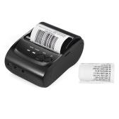 Segunda Mão POS-5802DD Mini Portátil Bluetooth USB Impressora Térmica Ticket de Impressão POS Impressão para iOS Android Windows