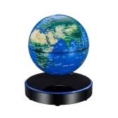 Globo do mapa do mundo levitação magnética