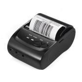 Impressão sem fio do ponto do bilhete de recibo da impressora térmica de POS-5802DD 58mm Bluetooth USB
