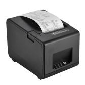 Gprinter GP-L80160I Drukarka pokwitowań termiczna Drukarka kodów kreskowych Drukarka etykiet z klejem 160 mm / s Szerokość druku 80mm dla Reastaurant Kuchnia USB POS Komputer