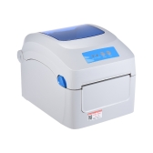 Impressora Térmica Gprinter GP-1324D Impressora Térmica 1D 2D QR Código de Barras E-Waybill Impressão 8inch Velocidade Rápida 20-118mm Largura com Entrada de Etiqueta Externa para Logística Express Posto de Parquinho de Armazém
