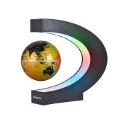 Aibecy Creative 3 Inch C em forma de Levitação Magnética Mapa Mundial