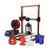 Anet E12 300 * 300 * 400 mm Kit de DIY de impressora 3D com cartão de 8GB TF