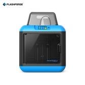 FlashForge Inventor II Desktop WiFi 3D Printer z 0.6kg białym włóknem PLA dla dzieci