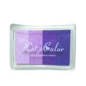 Multicolor Rainbow Craft Ink Pad Znaczki Kolorowe pieczątka Pad DIY Scrapbooking Finger Farba Fingerprint Inkpad do pieczątek papieru z drewna