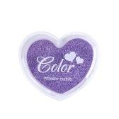 Selos de almofada de tinta de dedo de artesanato Doce cores Inkpad de impressão digital de design em forma de coração