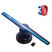 3D Hologram Projector Advertising Display Fan Photo Video Air Holographic Machine Player