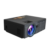 Mini Projector 1080P Supported 5000 Lux 150 Inch Display Portable Video Movie