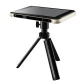 Оригинальный портативный интеллектуальный 3D-сканер Creality CR-T Сканер для 3D-моделирования Проектор 1080P 1300 мегапикселей с 7-дюймовым сенсорным экраном HD 32 ГБ памяти для образования / художественного дизайна / игрового дизайна / 3D-печати