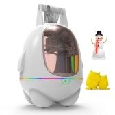 EasyThreed 3D-принтер для детей Мини-настольный 3D-принтер в сборе Размер печати 80x80x100 мм Без подогрева кровати Печать без звука с TF-картой Образец PLA нити для начинающих Домашнее образование