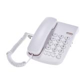 Przenośny przewodowy telefon Telefon Pauza / Ponowne wybieranie / Błysk / Wyciszenie Mechaniczna blokada Ścienna Podstawa Słuchawka do domu Dom Call Center Biuro Firma Hotel