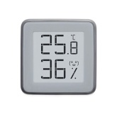 Termômetro digital BT MiaoMiaoCe e higrômetro Termômetro de tela eletrônico-INK e medidor de umidade com monitor de umidade de temperatura Armazenamento de dados de 3 meses MHO-C401