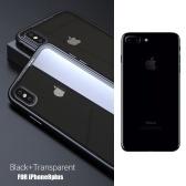 Custodia in metallo temprato Custodia protettiva magnetica in vetro temperato Custodia protettiva per smartphone Custodia rigida in alluminio per iPhone 8P