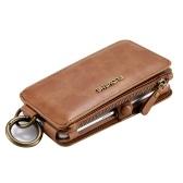 Retro klasyczny wielofunkcyjny portfel z klapką