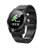DTNO.I S10 Smartwatch 1,3 polegadas IP68 Waterproof-Steel Band