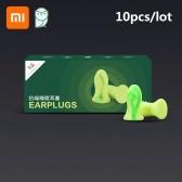 Xiaomi Youpin Miaomiaoce 5 Pair Anti-noise Sleeping Earplugs Soft Slow Rebound Earplugs Noise Reduction Earplugs Headphone Earpads