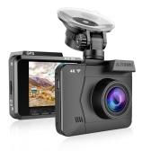 AZDOME M06 4K Dash Cam WDR Grabador de conducción de automóviles con visión nocturna