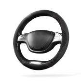 BOUNDS Ice Silk Чехол на рулевое колесо Противоскользящая оплетка для рулевого колеса Прохладный гибкий Универсальный тисненый кожаный стайлинг автомобиля
