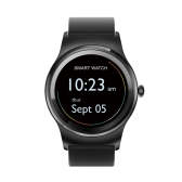 SMA Round Smart Watch 1.3-Inch IPS Display MTK2503A Activity Tracker Call Syncing Message Notification 300mAh 128MB+64MB Music Control Remote Camera