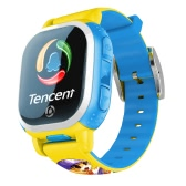 Versione europea Tencent PQ708 QQWatch 2G GSM IP65 Water-reisitant Bambini Smart Watch Mini GPS LBS Locator Tracker 1.22 pollici 2.5D Schermo di tocco colorato MTK6260D per iPhone 6 6S 6 Plus 6S Plus Samsung S6 S6 bordo S7 S7 bordo HTC Smartphone SOS Emergenza WiFi Pedometro Smart Mobile App Fashion durevole per Android 4.0 iOS 7.0 o superiore