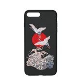 Estojo de telefone para iPhone Ultra-thin Protective Shell Back Cover PC + TPU