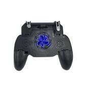 Pubg Controller Gamepad Mobile Game Controller für PUBG Fortnite L1R1 Umsatz löst Feuerknöpfe mit tragbarem Ladegerät Cooling Pad aus