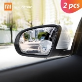 2pcs Xiaomi Guildford Car Rearview Mirror Protective Film Waterproof Anti Fog Rainproof Transparent Membrane Sticker