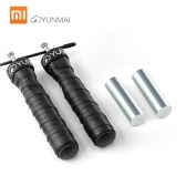 Xiaomi Yunmai Jump Rope Adjustable Lightweight Skipping Jumping Rope Cable Wire Home Gym Fitness Boxing Training Workout Exercise Jumping Rope 9.8 Feet with Heavy Metal Block