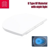 Xiaomi Youpin Diiib Toilet Seats Cover Replacement Universal Thicken Slow-Close Toilet Seats Lid With Night Light U Type UF Material
