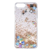 Custodia per cellulare Quicksand APP Pattern per iPhone 7 Plus iPhone 8 Plus Bling Custodia protettiva sveglia per telefono anti-polvere Anti-graffio
