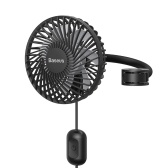 Xiaomi Youpin Baseus Car Air Fan Noiseless Car Air Conditioner 360 Degree Rotating Cooling Fan Three Gears Auto Backseat USB Cooling