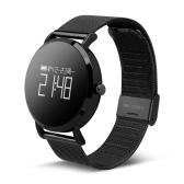 CV08 Heart-rate Ciśnienie krwi Smart Watch - PU Skórzany pasek