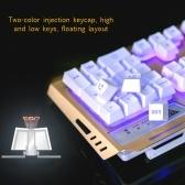 Podświetlany mechaniczny zestaw klawiatura i mysz V1
