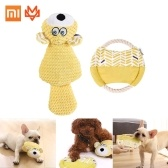 Xiaomi Youpin Dog Toys Pet Dog Voice Toy Interactive Toys Teething Clean For Small And Medium Dog Chewing Pets Supplies Soft Cotton