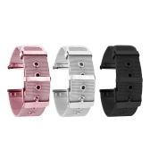 Ремешки для часов из нержавеющей стали 22 мм Быстросъемный сетчатый ремешок Сменный металлический браслет с пряжкой для ремня Спортивный браслет Ремешок для часов Совместимость с 22-мм умными / традиционными часами