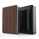 Besiter Portable Charger 13400mAh Large Capacity Safe Power Bank Wooden Front-panel Quick Charge 2.0 for iPhone Android Smartphones