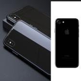 Czarny metalowy futerał na zderzak do iPhone 7