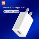 Original xiaomi usb carregador 10w telefones usb 5v 2a celular adaptador