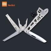 Xiaomi Nextool Многофункциональный инструмент для ремонта велосипедов 9 в 1 Инструмент для выживания в полевых условиях Складной гаечный ключ Нож, плоскогубцы и отвертки Открытый инструмент для выживания