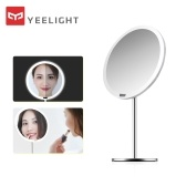 Xiaomi Yeelight Sensor Makeup Mirror YLGJ01YL Portable Desktop Mirror with Light Dimmable Smart Motion Infrared Sensor Night Light Rechargeable Ra95 3 Light Modes